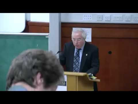 Humanitas: Professor Manuel Castells at the University of Cambridge Lecture 1