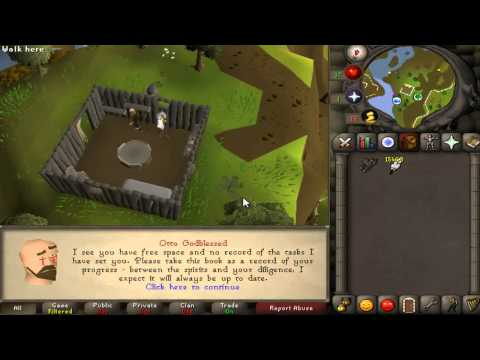 Runescape 2007 - How To Barb Fish - Fayd - Update #7