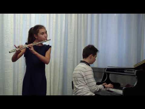 "Дуэт - фортепиано + флейта ""Nonstop"""