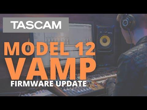 TASCAM Model 12 VAMP Firmware Update