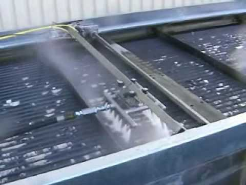 Mb Ti Com Air Fin Cleaner Heat Exchanger Cleaning Youtube