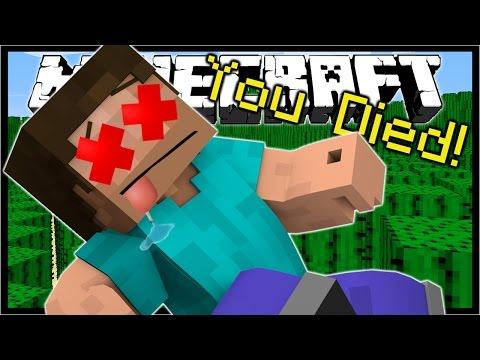11 WAYS TO DIE IN MINECRAFT! | Minecraft Custom Map