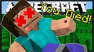 Repeat youtube video 11 WAYS TO DIE IN MINECRAFT! | Minecraft Custom Map