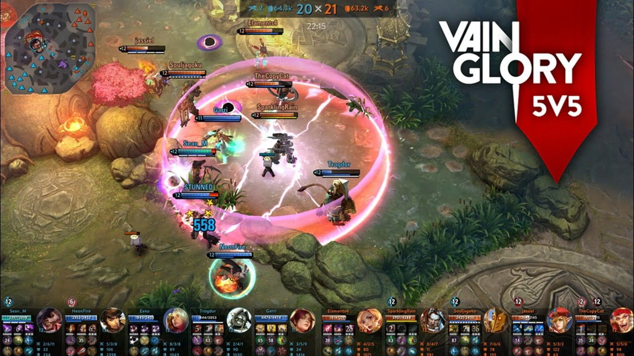 Vainglory 5v5 Beta Test Full Gameplay With High Graphic - Amazing Epic Battle Ever!!!