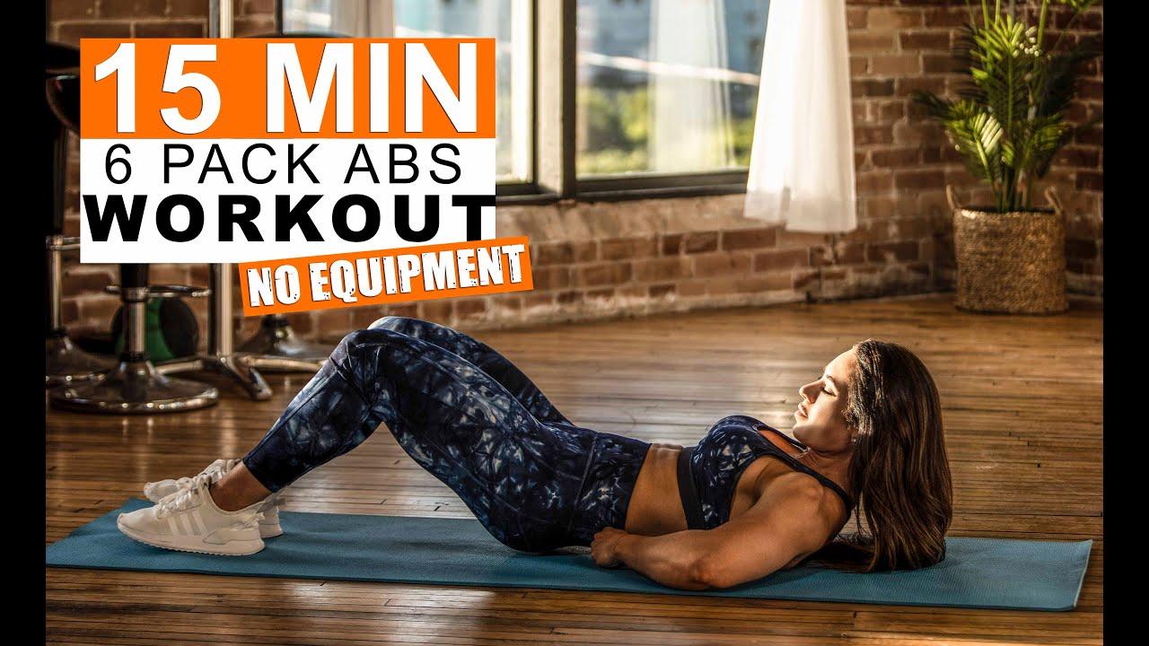15 min Six Pack Abs (NO Equipment)