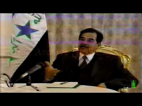 The last interview with the former Iraqi President Saddam Hussein, one month before the 2003 war.