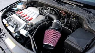 Audi A3 3.2 meets K&N induction kit + Milltek Exhaust