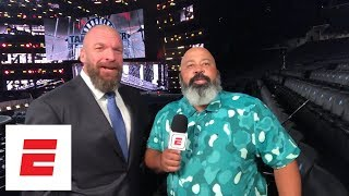 Paul 'Triple H' Levesque discusses the rise and popularity of NXT | ESPN