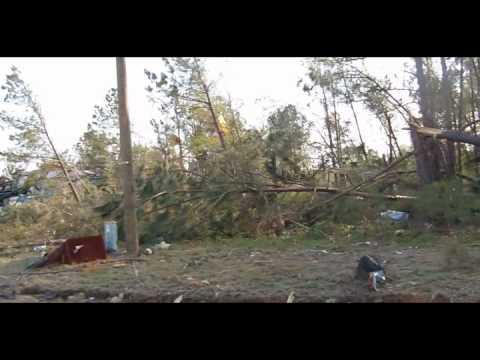 Sanford NC Tornado Destroys Cagle Furniture Store On Industrial Dr.