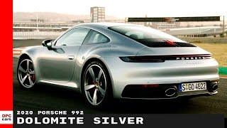 2020 Porsche 992 911 Carrera S In Dolomite Silver