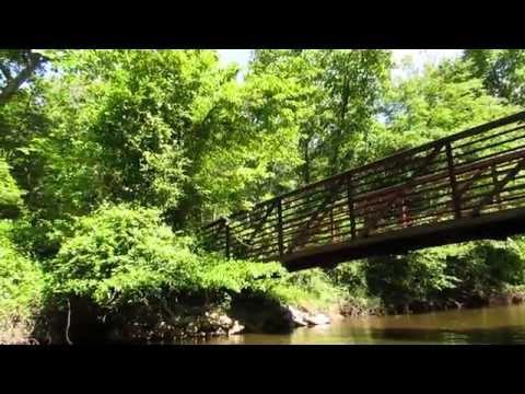 Adkins Arboretum Bridge over Tuckahoe Creek, Maryland