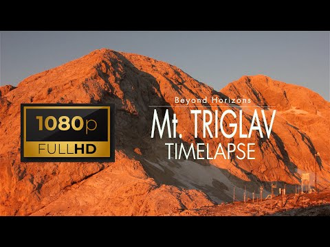 Mt. Triglav, Slovenia (Time lapse)