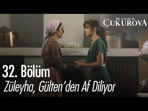 Züleyha, Gülten'den Af Diliyor - Bir Zamanlar Çukurova 32. Bölüm