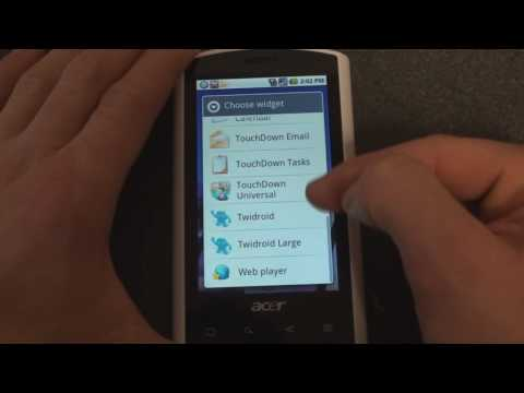 Acer Liquid Software Tour and Review