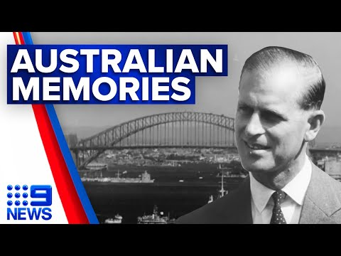 Unseen footage of Prince Philip in Australia released | 9 News Australia