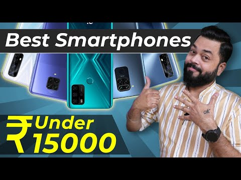 Top 5 Best Mobile Phones Under ₹15000 Budget ⚡ November 2020