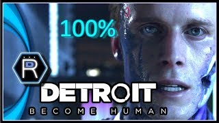 Detroit Become Human Gameplay Demo PS4 - 100% Success Negotiation