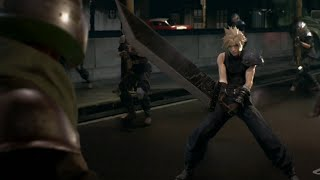 Final Fantasy 7 Remake Gameplay PS4 (Final Fantasy VII) PlayStation Experience 2015