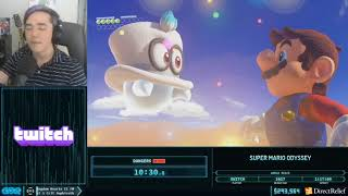 Super Mario Odyssey by Dangers in 1:15:39 - Corona Relief Done Quick