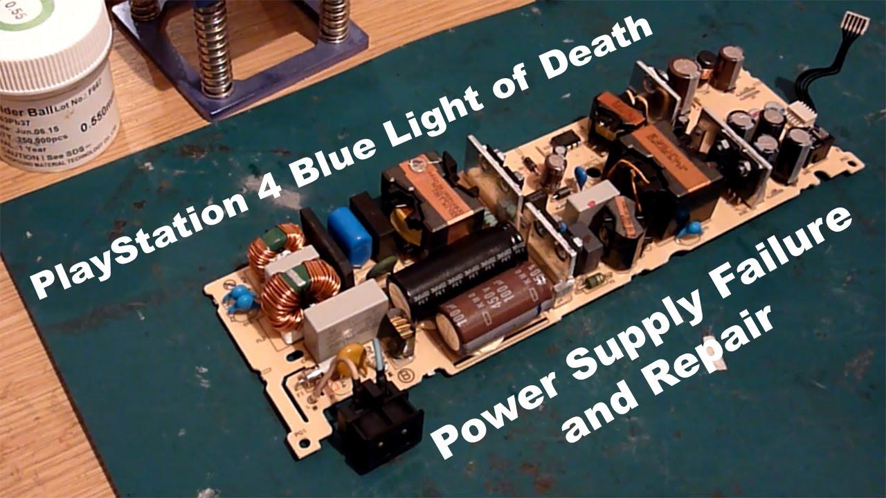 PS4 Blue Light of Death (BLOD) - ADP-240AR PSU Transformer Failure ...