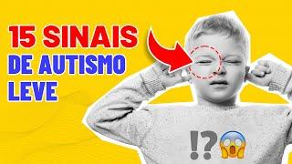 15 SINAIS de AUTISMO LEVE I MARIA CLAUDIA BRITO thumbnail