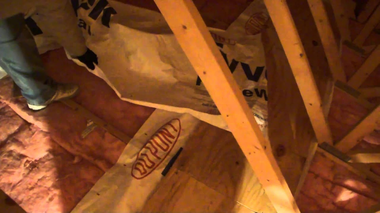 Installing A Plywood Floor Youtube