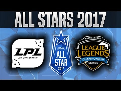 CN vs NA - 2017 All-Star Event Day 1 - China vs North America League of Legends All Star 2017 Day 1