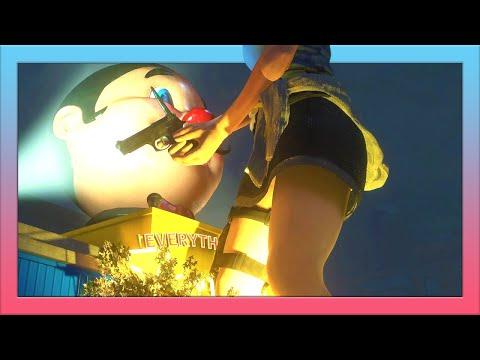 Giantess Growth Resident Evil 3 Jill Valentine [巨大娘] 60FPS / Slow Growth to Giantess