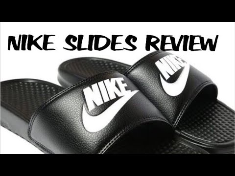 f7f9c6991bd0ff Nike Benassi Slides Unboxing   On Feet! ( SO COMFY!!)