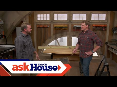How to Build Saw Horses with Scrap Lumber