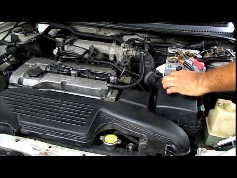How To Clean the MASS Air Flow Sensor in MAZDA 323 - YouTube