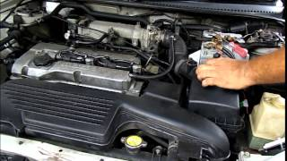 How To Clean the MASS Air Flow Sensor in MAZDA 323