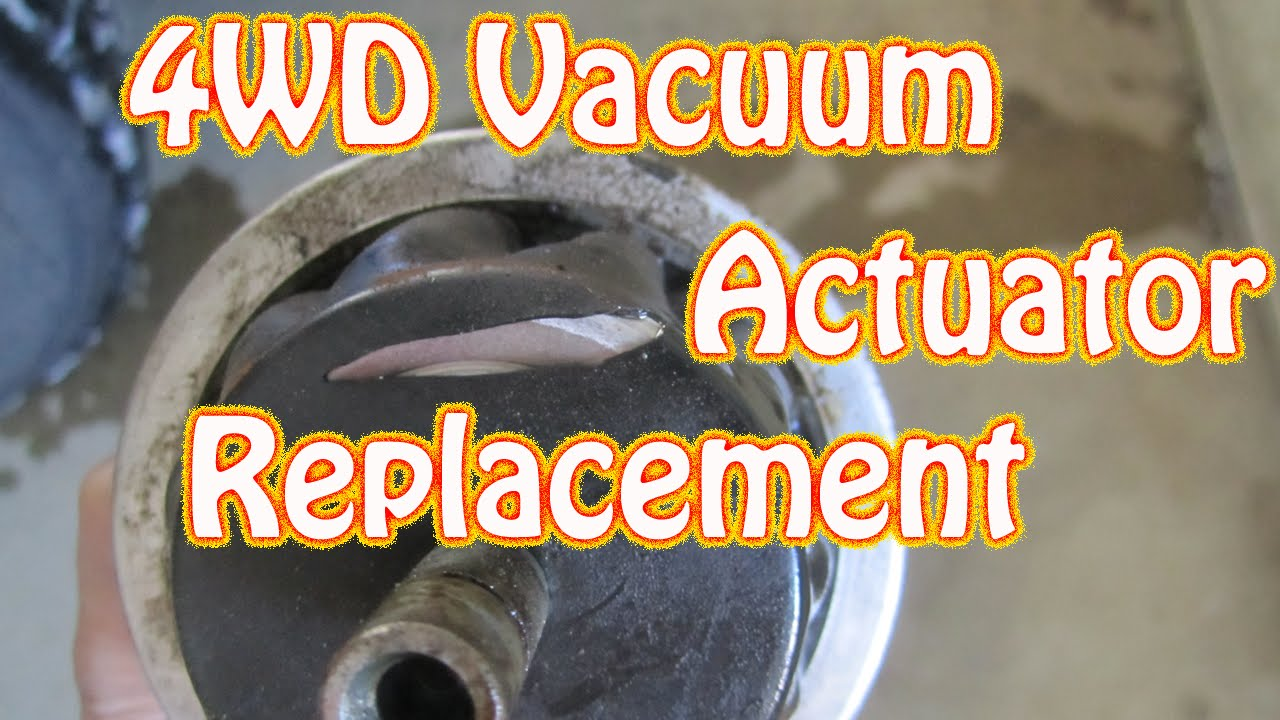 hight resolution of diy how to replace a 4wd vacuum actuator on a chevy blazer gmc jimmy s10 four wheel drive