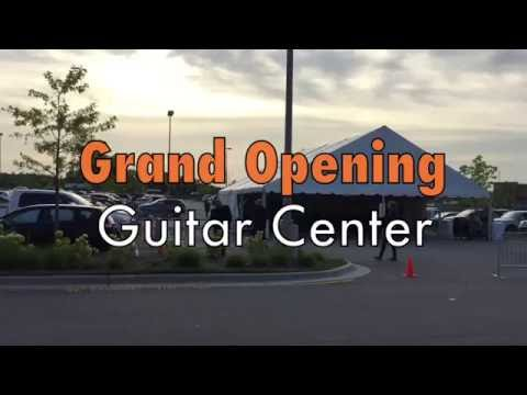 Grand Opening [Guitar Center in Cary N.C.]