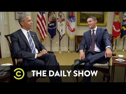 The Daily Show - Barack Obama - Navigating America's Racial Divide