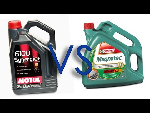 motul 6100 synergie 10w40 vs castrol magnatec 10w40 test. Black Bedroom Furniture Sets. Home Design Ideas