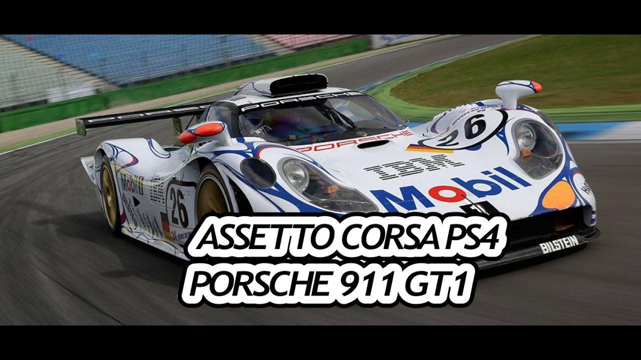 assetto corsa porsche 911 gt1 98 nordschleife ps4