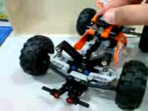 lego technic quad bike alt model gimmicks youtube. Black Bedroom Furniture Sets. Home Design Ideas