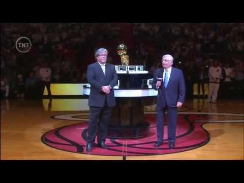 October 29, 2013 - TNT - 2013 Miami Heat Ring Ceremony (Miami Heat Vs Chicago Bulls)