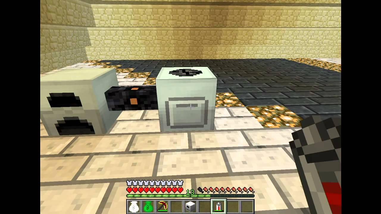Minecraft Industrialcraft Electric Furnace tutorial - YouTube