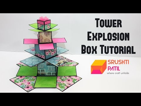 Tower Explosion Box Tutorial by Srushti Patil