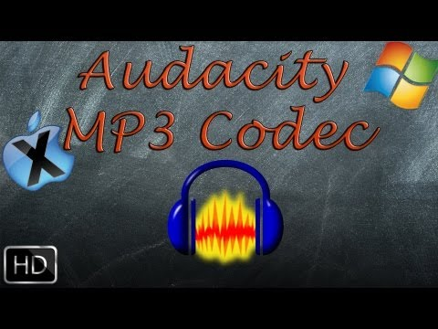 Audacity Mp3 Codec Hinzufügen (Mac OS X/Windows) [Deutsch/Full-HD]
