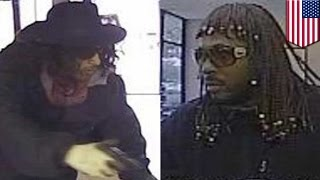 Bank robbery: Rick James & Super Fly's Youngblood Priest impersonators rob bank- TomoNews