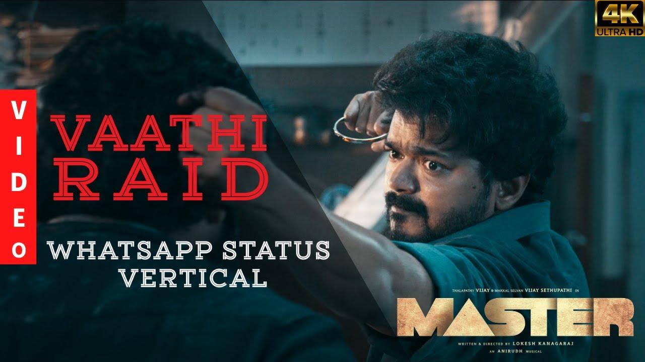 Download MASTER MASS MASHUP   ft. Vaathi raid whatsapp vertical fullscreen whatsapp status