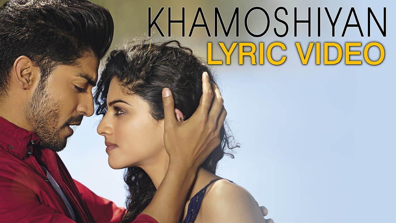 khamoshiyan title song lyric video arijit singh full song lyric video youtube