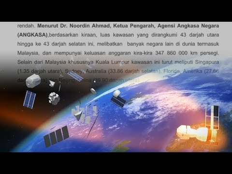 Angkasa says chances of spacecraft falling to Malaysia are very low