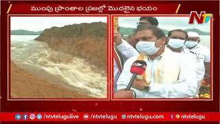 పరివాహక ప్రాంతాలను అప్రమత్తం చేశాం- Chief Engineer Sudhakar Babu Face To Face | NTV