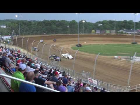 Lawrenceburg Speedway | 5.20.17 | UMP Modifieds | Heat 2