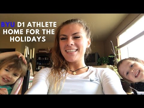 Being a D1 Athlete Home for the Holidays