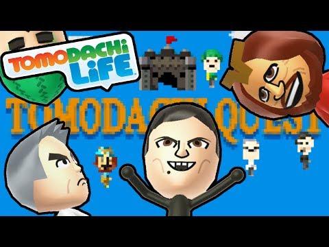 tomodachi-life-3ds-adventure-quest,-robo-chun-li,-goofy-bbq-gameplay-walkthrough-part-11-nintendo